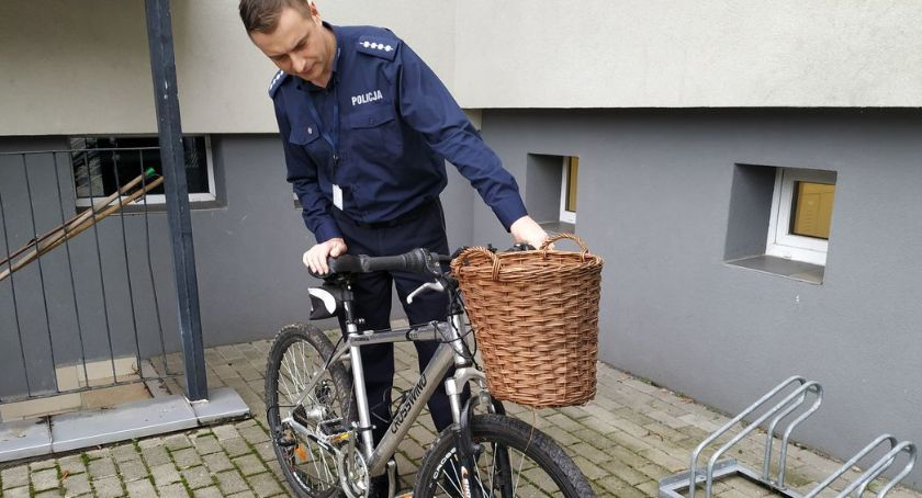 PRZESTĘPSTWA I WYKROCZENIA, Policja odzyskała rower wartości - zdjęcie, fotografia
