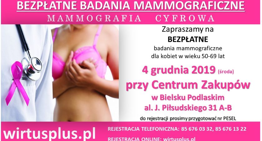 ZDROWIE, Badania mammograficzne - zdjęcie, fotografia