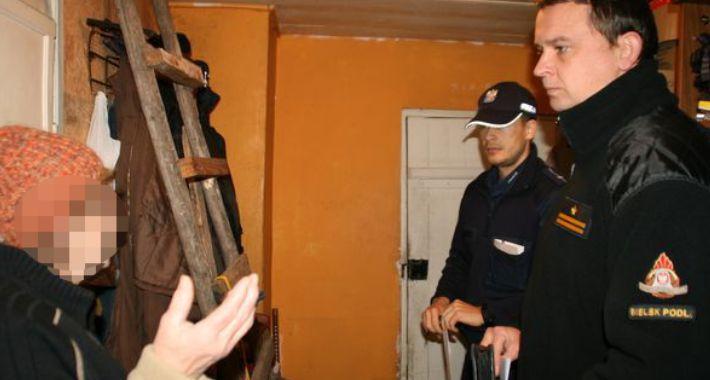 PREWENCJA, Bielscy policjanci realizują program pomocy osobom zagrożonym niskimi temperaturami - zdjęcie, fotografia