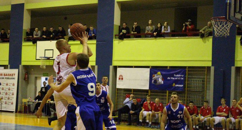 KOSZYKÓWKA, Bielsk Podlaski przegrywa Sport Radom - zdjęcie, fotografia