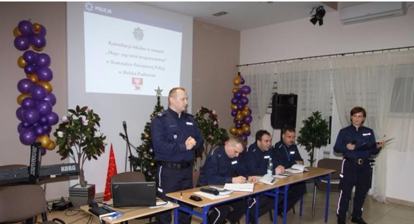 WYPADEK, Komenda Powiatowa Policji Bielsku Podlaskim rozpoczyna konsultacje społeczne - zdjęcie, fotografia