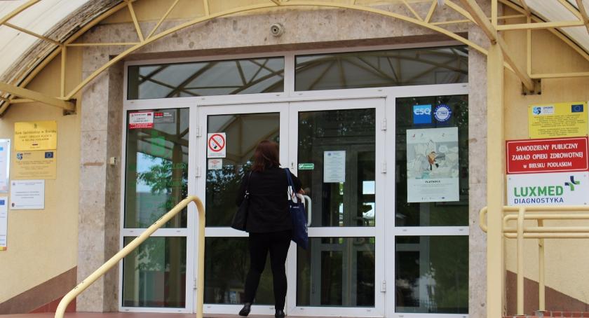 ZDROWIE, Ambulatorium bielskim szpitalu - zdjęcie, fotografia
