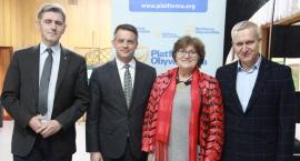 Platforma Obywatelska debatuje z mieszkańcami powiatu bielskiego