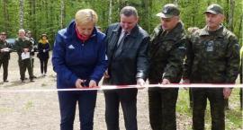 Otwarcie nowej ścieżki do biegów w Lesie Pilickim