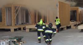 Ćwiczenia – pożar Unihouse w Bielsku Podlaskim