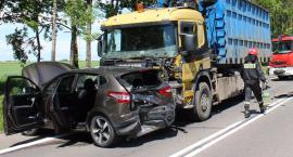 Wypadek trzech samochodów w Pilikach