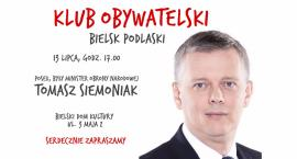 Spotkanie Klubu Obywatelskiego Bielsk Podlaski