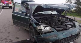 Wypadek dwóch osobówek w Kalnicy