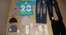 Mężczyźni zatrzymani w związku z kradzieżą odzieży dziecięcej