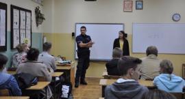 Policja z prewencją w Szkole Podstawowej w Orli