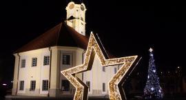 Bielsk Podlaski – świąteczne dekoracje pojawiły się w mieście