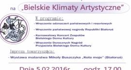 Bielskie Klimaty Artystyczne w Bielskim Domu Kultury