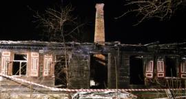 Pożar domu w Warpechach Starych – zginęła kobieta