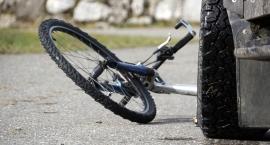 Wypadek na krajowej nr 19. Nie żyje 50-letnia rowerzystka