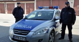 Bielscy policjanci uratowali życie starszemu małżeństwu