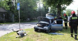 Bielsk Podlaski: Zderzenie trzech osobówek