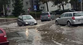 Bielsk Podlaski zalany po burzy