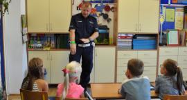 Policja edukuje dzieci – BEZPIECZNA DROGA DO SZKOŁY