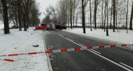 Śmiertelny wypadek na DK 19
