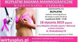 Bielsk Podlaski: Bezpłatne badania mammograficzne