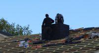 Śmiertelny wypadek przy budowie domu w miejscowości Widowo