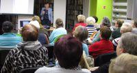 Wykład dr Małgorzaty Zakrzewskiej w Miejskiej Bibliotece Publicznej