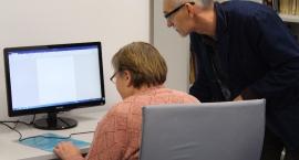 Zajęcia komputerowe dla seniorów Miejskiej Biblioteki Publicznej w Bielsku Podlaskim