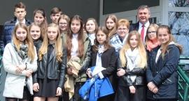 Młodzieżowa Rada Gminy Wyszki na obradach sesji Rady Powiatu w Bielsku Podlaskim
