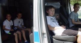 Bielska Policja na festynie rodzinnym w Wyszkach