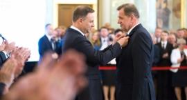 Sławomir Jerzy Snarski odznaczony Krzyżem Kawalerskim Orderu Odrodzenia Polski