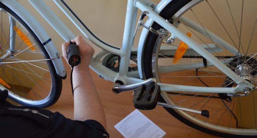 Komunikaty policji, Oznakuj rower szansy złodziejowi! - zdjęcie, fotografia