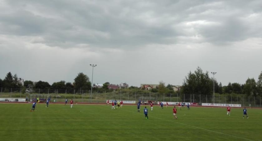 Piłka nożna, Zwycięstwo ostatnim sparingu - zdjęcie, fotografia