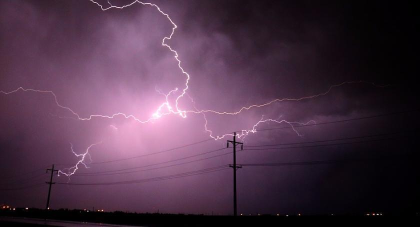 Aktualności, zachować podczas burzy - zdjęcie, fotografia