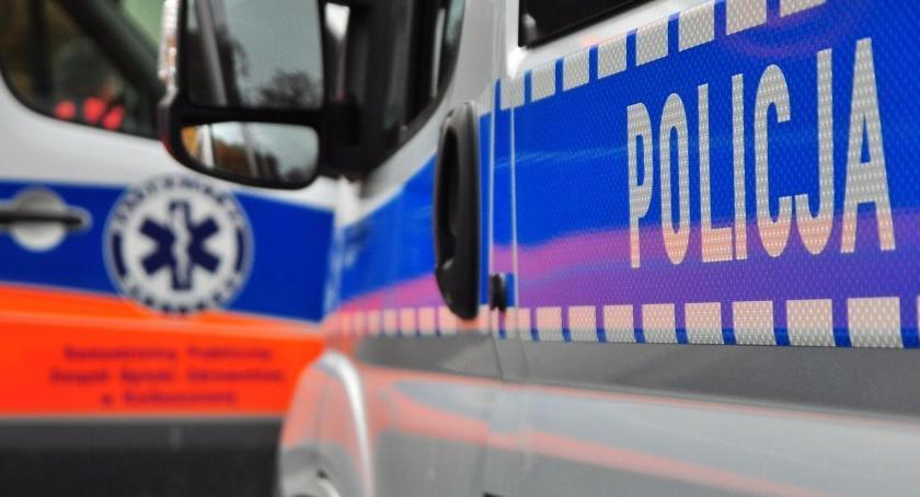 Komunikaty policji, Chciał podpalić - zdjęcie, fotografia