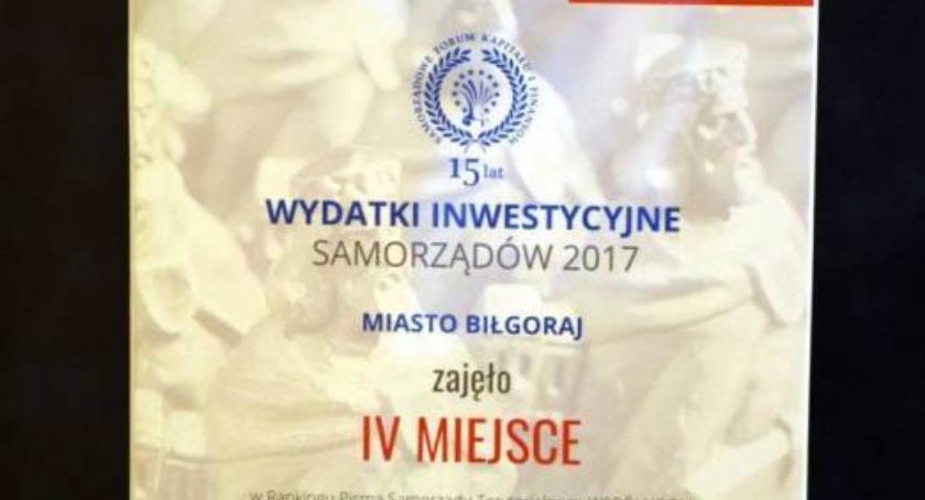 Samorząd lokalny, Sukces miasta Biłgoraj - zdjęcie, fotografia