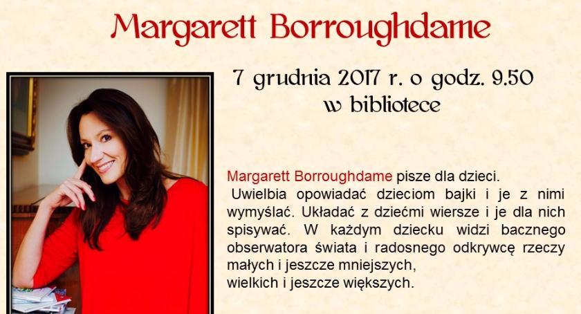 Wydarzenia, Spotkanie autorskie Margarett Borroughame - zdjęcie, fotografia