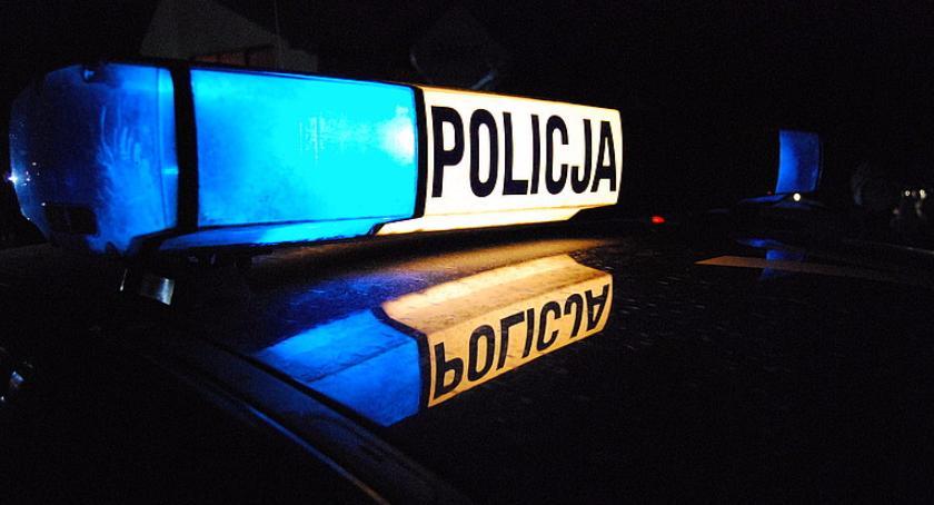 Komunikaty policji, Traktorzysta podwójnym gazie Miał promila - zdjęcie, fotografia