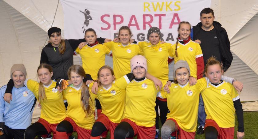 Inne, Zimowy Turniej Piłki Nożnej Dziewcząt SPARTA - zdjęcie, fotografia