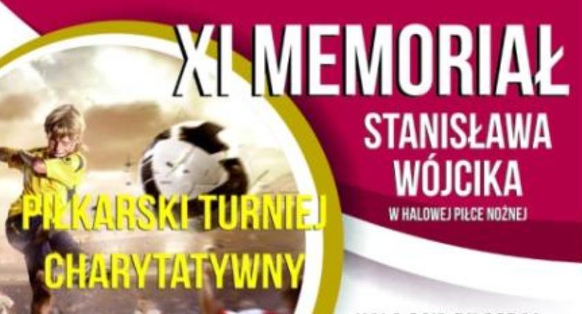 Piłka nożna, Zapraszamy Memoriał Stanisława Wójcika - zdjęcie, fotografia