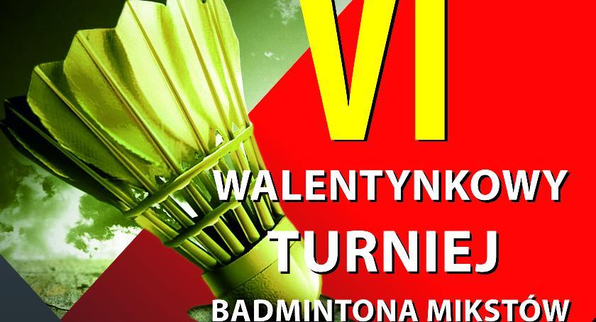 Inne, Zapraszamy Walentynkowy Turniej Badmintona - zdjęcie, fotografia