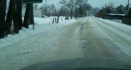 Fatalnie odśnieżone drogi powiatowe