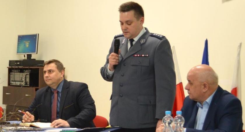 NA SYGNALE, Policja spotkanie mieszkańcami Drobina - zdjęcie, fotografia