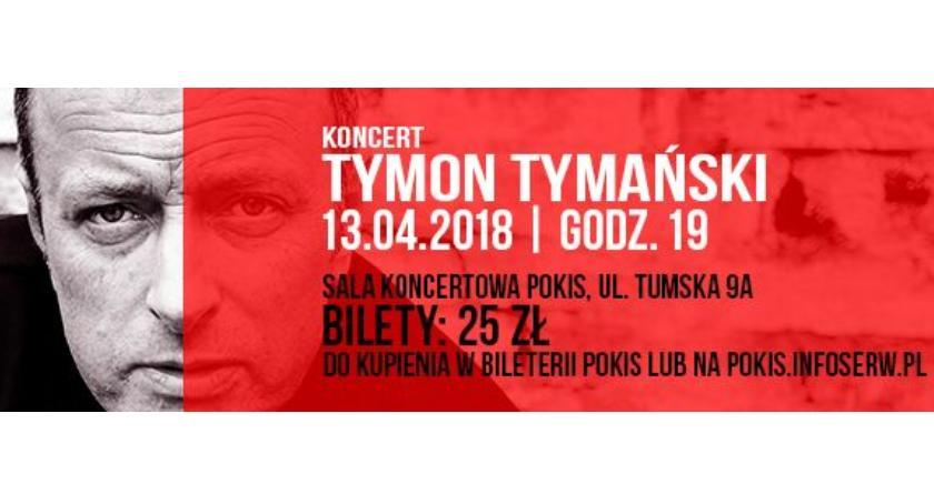 DOMY KULTURY, POKiS Piątek trzynastego Tymonem Tymańskim - zdjęcie, fotografia