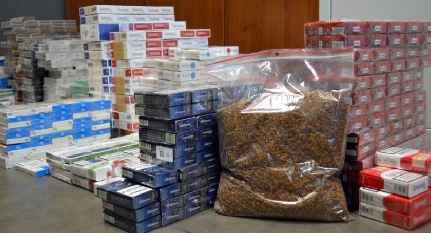 NA SYGNALE, Policja papierosy skonfiskowane - zdjęcie, fotografia
