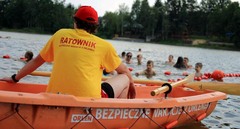 PKN Orlen - wiadomości ze Spółki , ORLEN zapraszają bezpieczne kąpielisko Grabiny - zdjęcie, fotografia