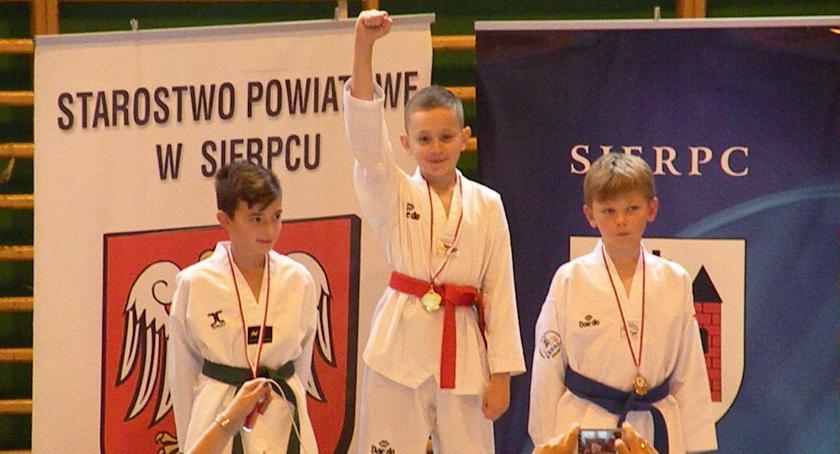SPORTY WALKI, Międzywojewódzkie Mistrzostwa Młodzików taekwondo olimpijskim - zdjęcie, fotografia