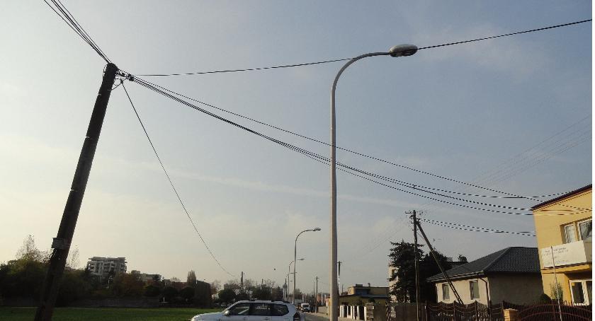 SPOŁECZNE, Ulica Traugutta liftingu - zdjęcie, fotografia