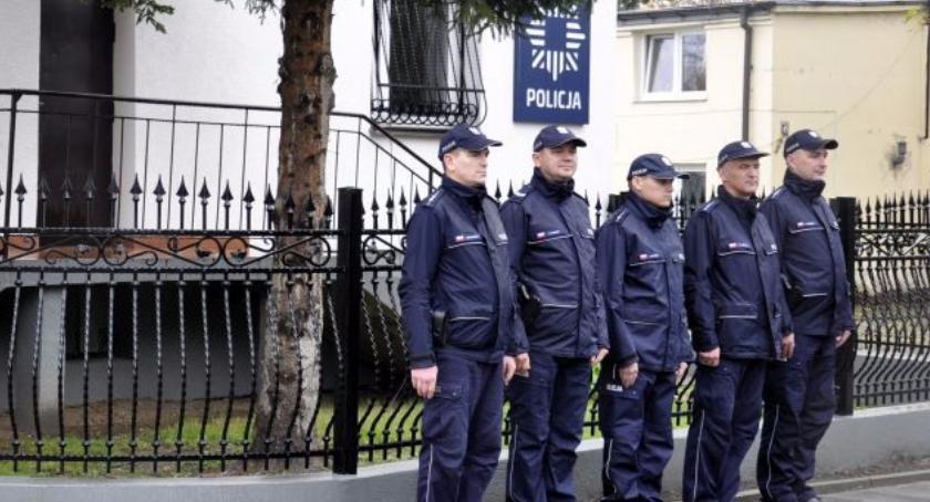 SPOŁECZNE, Posterunku Policji Staroźrebach - zdjęcie, fotografia