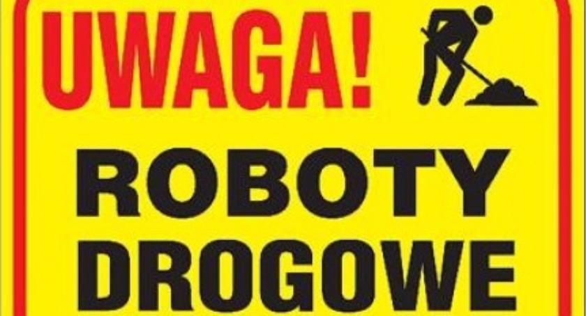 SPOŁECZNE, Roboty drogowe13 listopada płockim powiecie - zdjęcie, fotografia