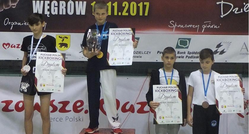 sport, Otwarty Puchar Polski kickboxingu Węgrów - zdjęcie, fotografia